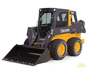 John Deere 318E Skid Steer Loader