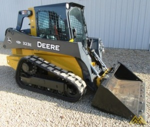 John Deere 323E Skid Steer Loader