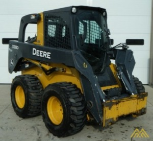 John Deere 328D Skid Steer Loader