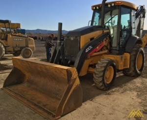 John Deere 410L Backhoe Loader