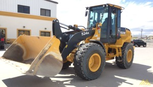 John Deere 524K Wheel Loader