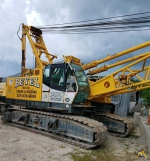 Kobelco CK1000-II 100-Ton Lattice Boom Crawler Crane