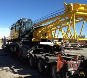 Kobelco CK1100G 110-ton Lattice Boom Crawler Crane
