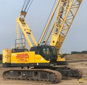 Kobelco CK1200G 120-Ton Lattice Boom Crawler Crane