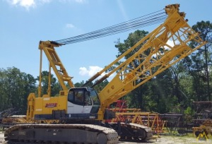 Kobelco CK1600 160-Ton Lattice Boom Crawler Crane