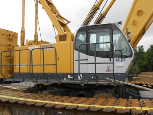 Kobelco CK1600-1F 160-Ton Lattice Boom Crawler Crane