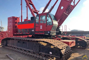 Kobelco CK1600-II 160-ton Lattice Boom Crawler Crane