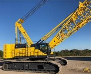 Kobelco CK1600G-2 160-Ton Lattice Boom Crawler Crane