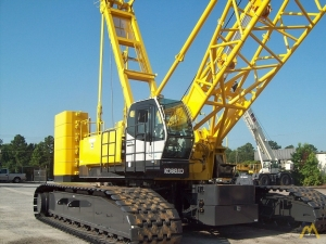 Kobelco CK2000-II 200-Ton Lattice Boom Crawler Crane