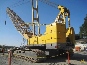 Kobelco CK2500 250-Ton Lattice Boom Crawler Crane