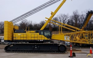 Kobelco CK2750G-2 275-Ton Lattice Boom Crawler Crane