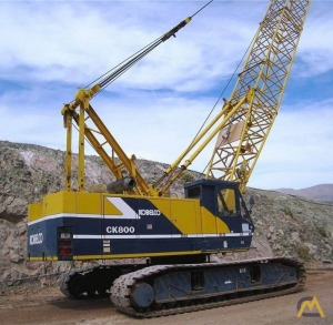 Kobelco CK800 80-Ton Lattice Boom Crawler Crane
