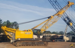 Kobelco CK850-II 85-Ton Lattice Boom Crawler Crane