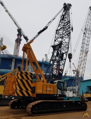 Kobelco CKE1350-1F 135-Ton Lattice Boom Crawler Crane