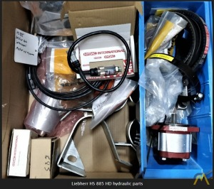 Spare Parts for Liebherr HS 885 HD