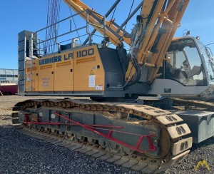 Liebherr LR 1100 120-ton Lattice Boom Crawler Crane