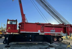 Liebherr LR 1350 400-ton Lattice Boom Crawler Crane