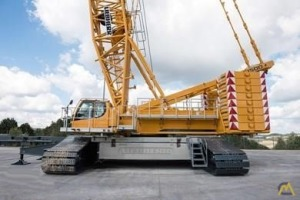 Liebherr LR 1500 550-Ton Lattice Boom Crawler Crane