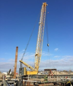 Liebherr LR1300 330-Ton Lattice Boom Crawler Crane