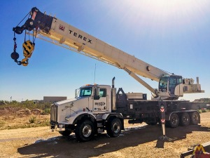 Like New Terex Crossover 8000 Boom Truck Crane