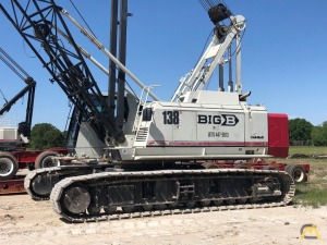 Link-Belt 138 Hylab 5 80-Ton Lattice Boom Crawler Crane