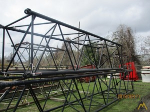 Link-Belt 20' Tubular Boom Sections