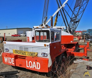 Link-Belt HC-138 65-Ton Lattice Boom Truck Crane