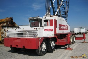 Link-Belt HC-238 125-Ton Lattice Boom Truck Crane
