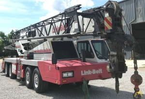 Link-Belt HTC-8660 60-Ton Telescopic Truck Crane