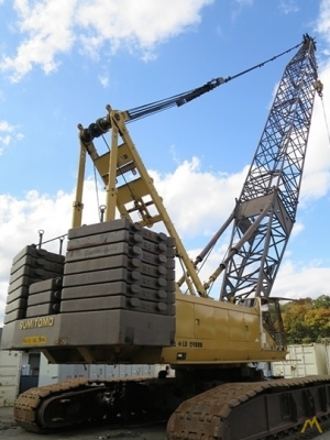Link-Belt LS-248H 165-Ton Lattice Boom Crawler Crane
