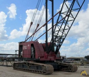 Link-Belt LS-418A 110-Ton Lattice Boom Crawler Crane