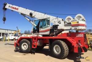 Link-Belt RTC-8050 Series II 50-ton Rough Terrain Crane