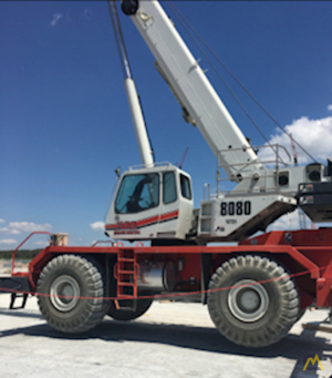 Link-Belt RTC-8080 Series II 80-Ton Rough Terrain Crane