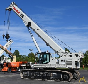 2018 Link-Belt TCC-750 75-Ton Telescopic Boom Crawler Crane Motivated Seller, All Reasonable Offers Considered