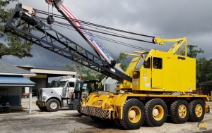 Link-Belt UC-108B 45-Ton Self-Propelled Lattice Boom Crane