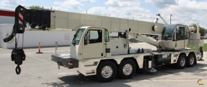 Load King 460-110 60-Ton Telescopic Truck Crane