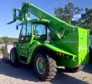 Low Hours on a Merlo P 120.10 HM Telehandler