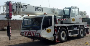 Luna AT-35/32 35-ton All Terrain Crane