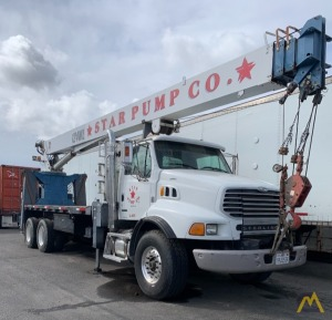 Manitex 124WL 25-ton Boom Truck Crane on Sterling 9500