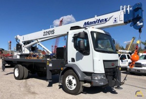 Manitex 22101S Single 22-Ton Boom Truck Crane
