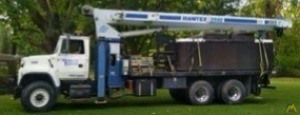 Manitex 2592 25-ton Boom Truck Crane on Ford L8000