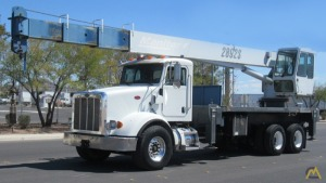 Manitex 2892S 28-ton Boom Truck Crane on Peterbilt 365