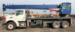 Manitex 2892S 28-ton Boom Truck Crane on Sterling
