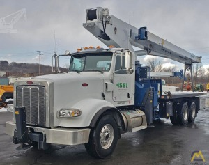 Manitex 30100C 30-Ton Boom Truck Crane on Peterbilt 367
