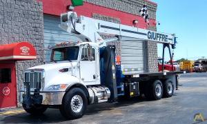 Manitex 30102C 30-ton Boom Truck Crane on Peterbilt 348