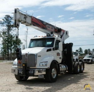 Manitex 3051T 30-Ton Boom Truck Crane on 2019 Kenworth T880 for Rent