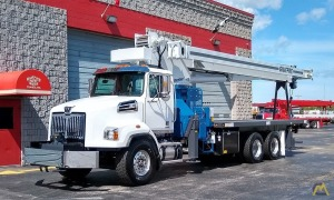 Manitex 35124C 35-ton Boom Truck on Western Star 4700