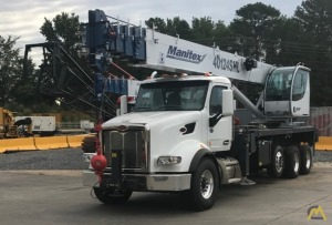 Manitex 40124SHL 40-ton Boom Truck on Peterbilt 567