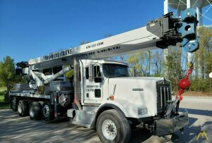 Manitex 50110S 50-Ton Boom Truck Crane on Kenworth T800