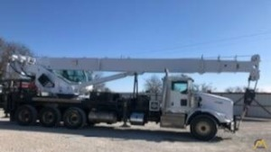 Manitex 5096S 50-Ton Boom Truck Crane on Peterbilt